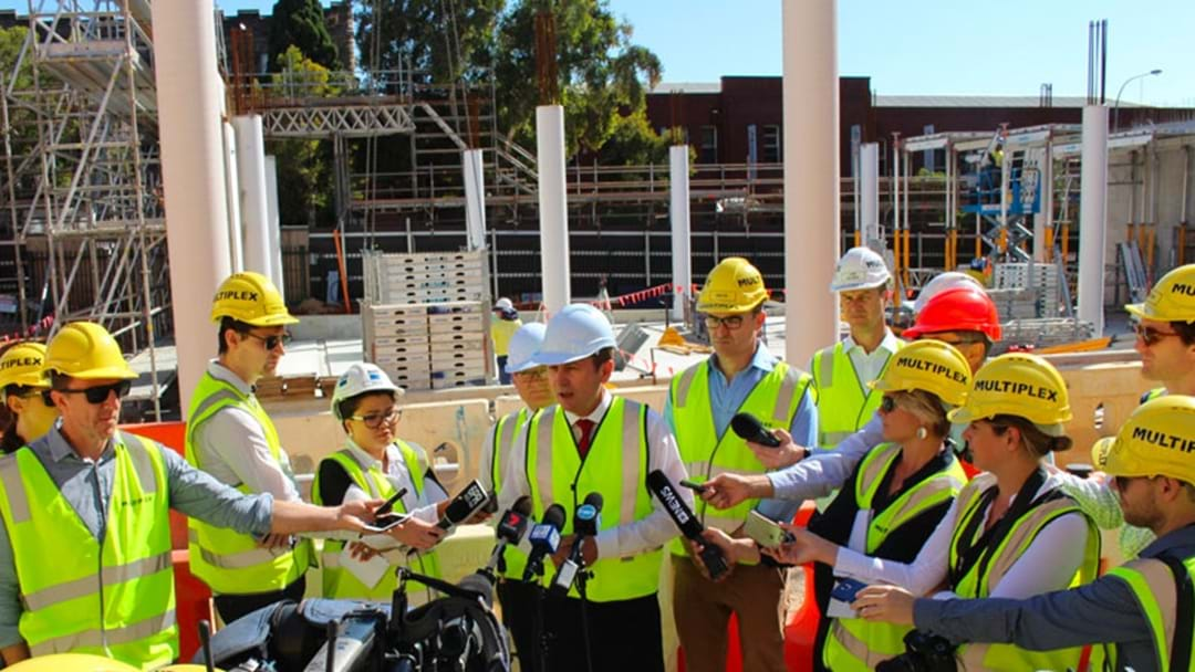 More Perth Infrastructure Gets The Green Light To Go Today