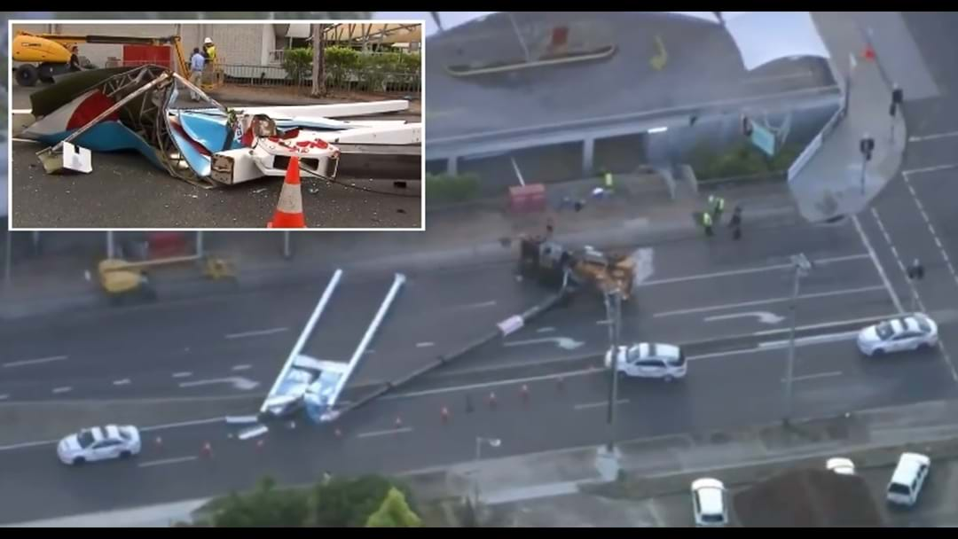 Crane Collapse Causes Traffic Dramas On Northside