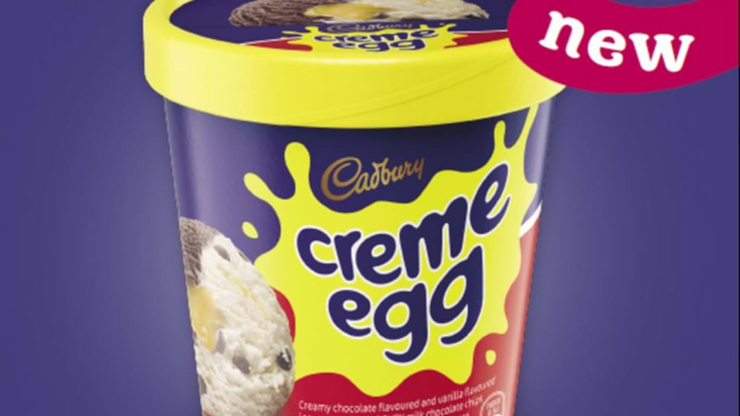 There's A Cadbury Creme Egg Ice-Cream And Guess What, You Can't Get It In Perth