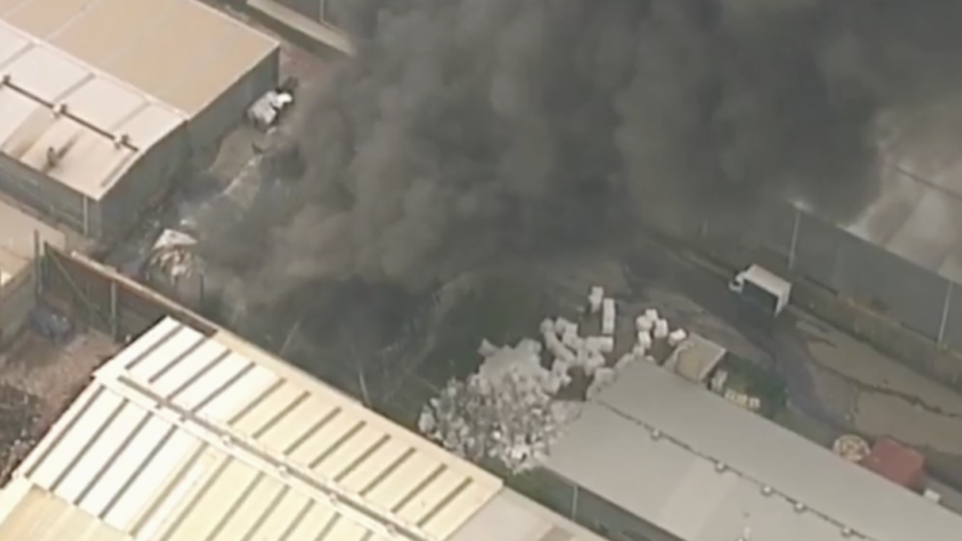 BREAKING: A Massive Fire Has Broken Out At  A Factory In Acacia Ridge