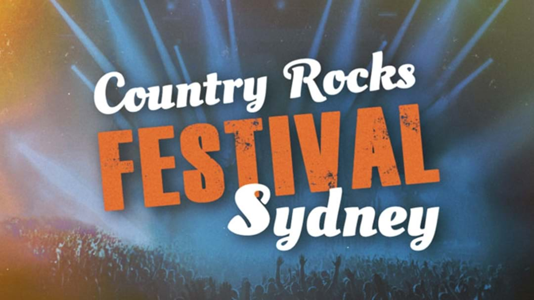 Sydney's First Ever Country Rocks Festival Comes To The Hills