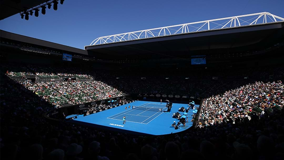 Fire Alarm Goes Off At Rod Laver Arena Moments Before Aus Open Quarterfinal
