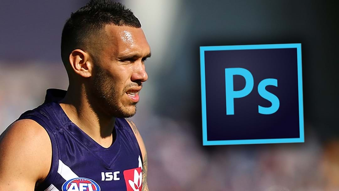 Fremantle Need To Photoshop Harley Bennell Into Their Official Team Photo