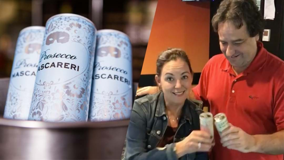Kennedy Molloy Give Us Their 'Expert' Opinion On Wine In A Can