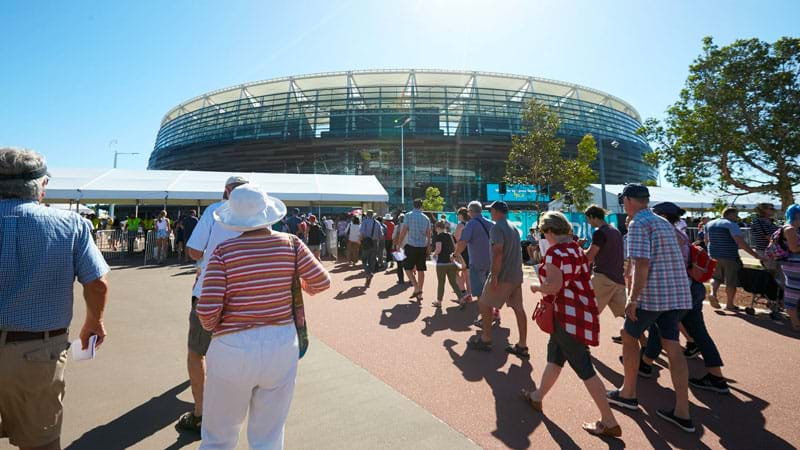 how to get to optus stadium from cockburn