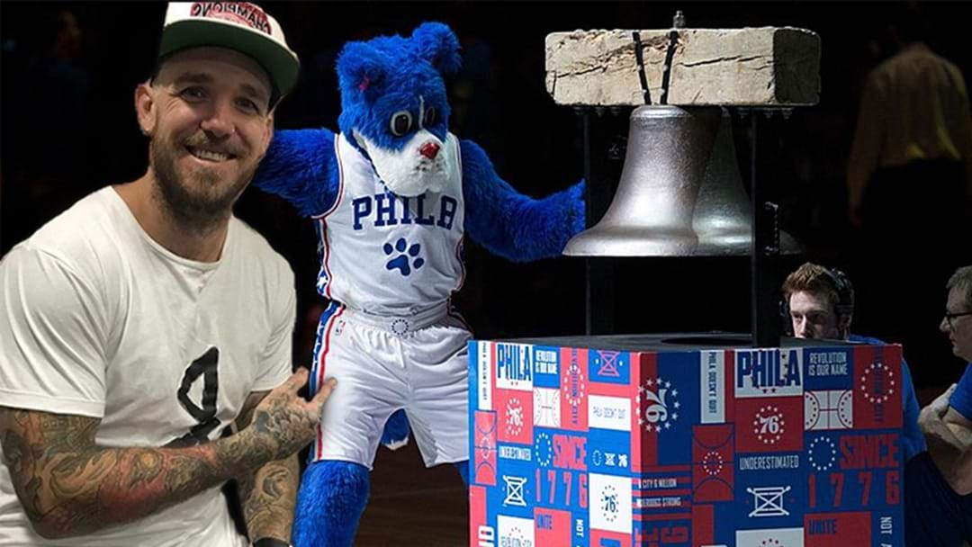 Dane Swan Is Featuring In The Philadelphia 76ers Pregame Activities Today