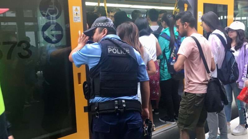 Sydney gets first taste of train strike
