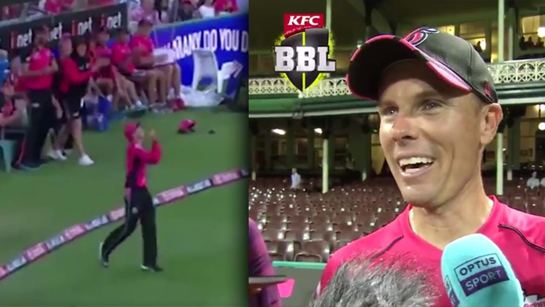 Luke Hodge Inspires Catch Celebration In The Big Bash