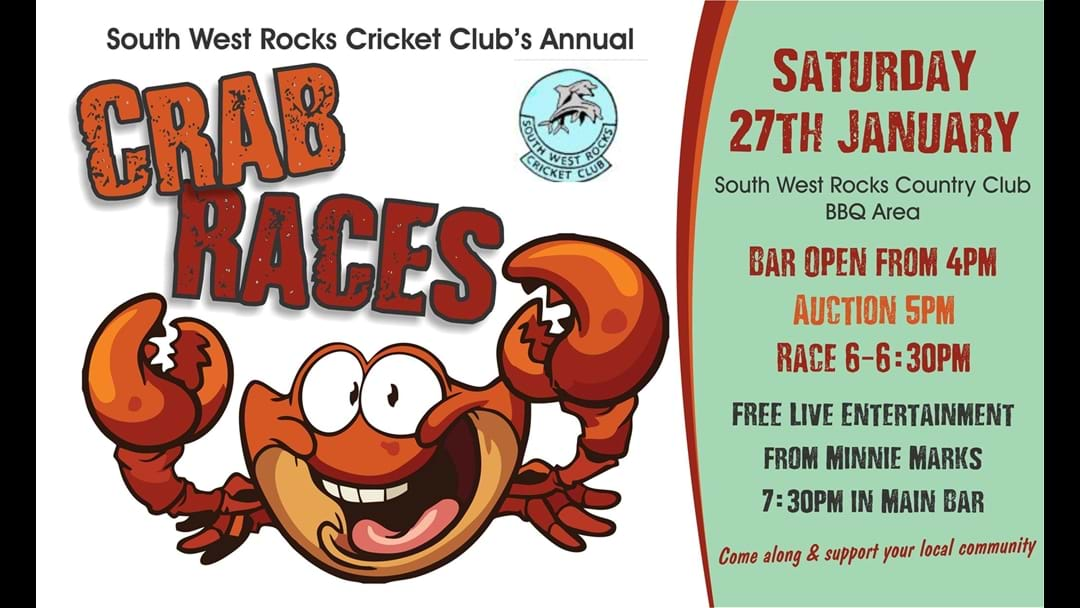 Get the Crabs at South West Rocks!