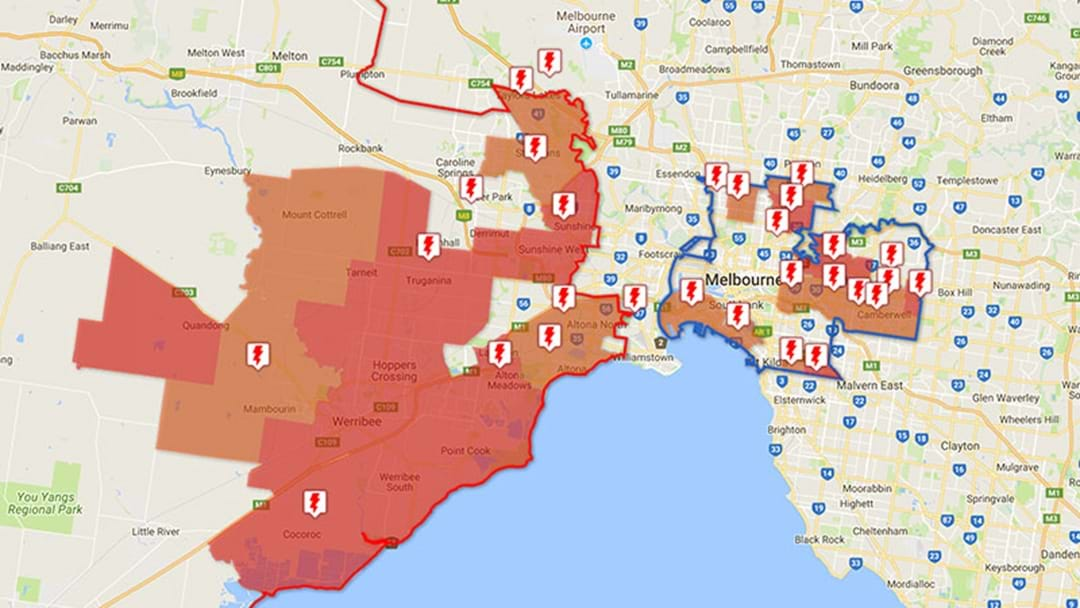 Nearly 50,000 Home In Victoria Are Without Power
