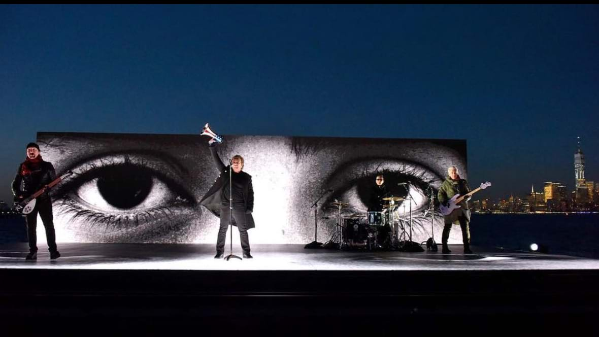 Article heading image for U2 Perform On The Hudson River