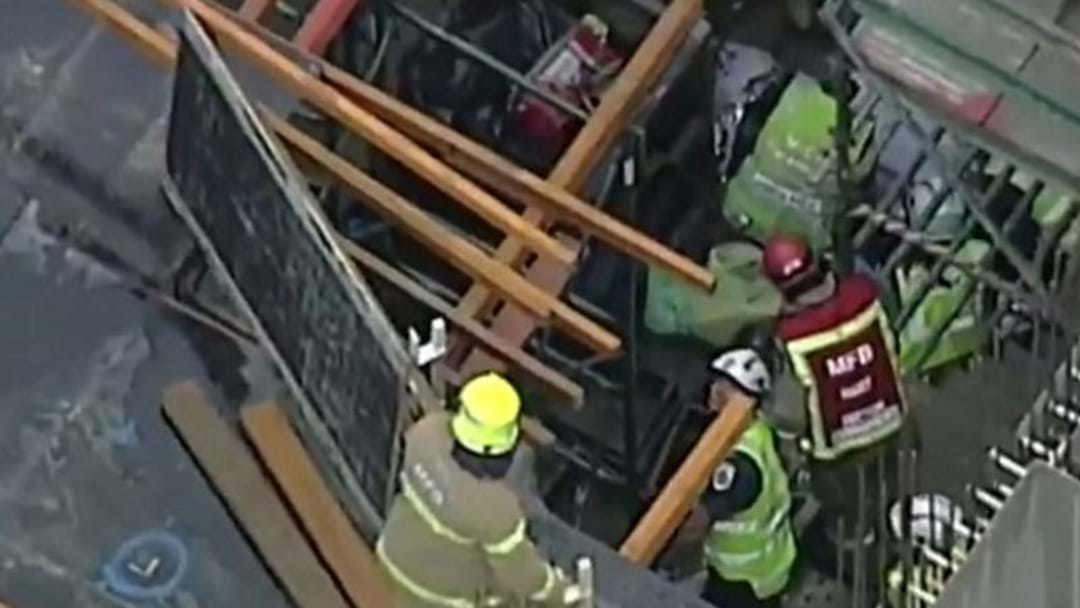 Tradie Seriously Injured After Scaffold Fall