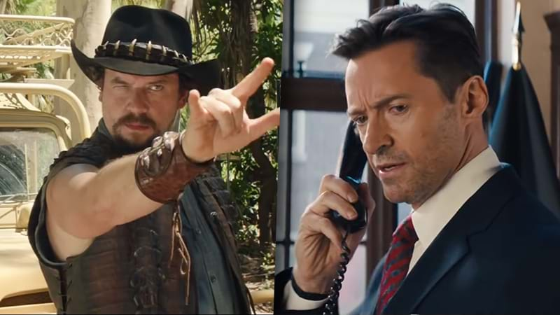 See Hugh Jackman, Margot Robbie in this hilarious 'Dundee' clip
