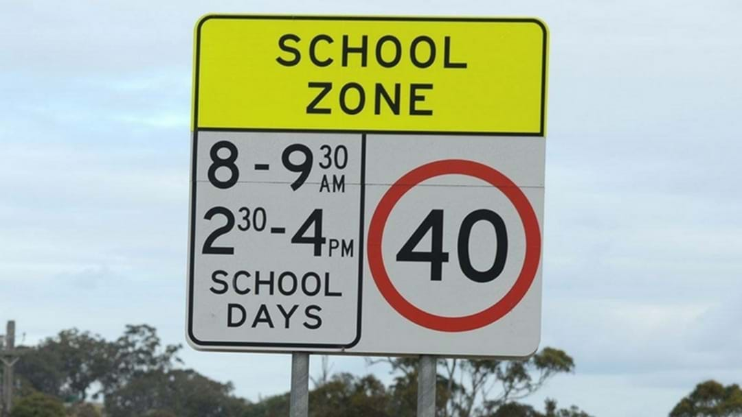 Drivers urged to slow down in 40km school zones