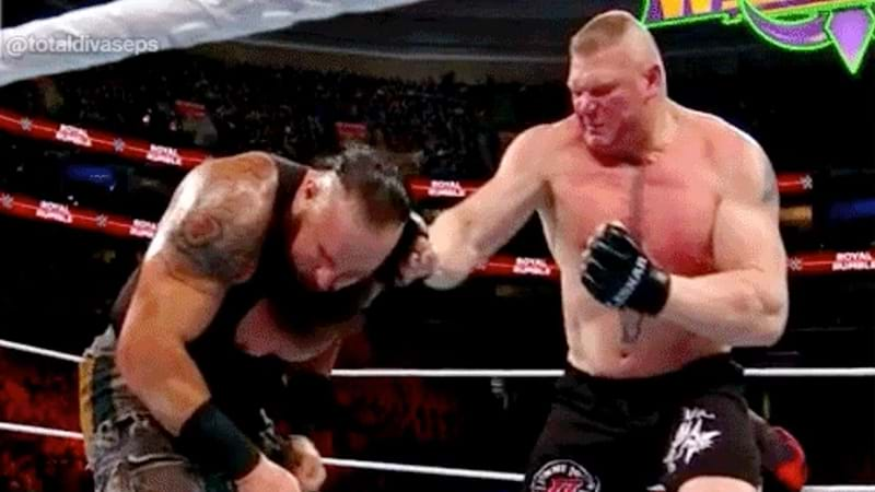 Is There Heat Between Brock Lesnar & Braun Strowman?