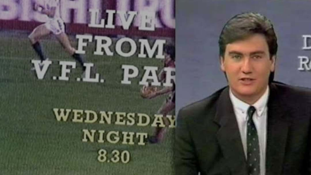Eddie Recounts The Day He Stumbled Across A Massive VFL TV Rights Story