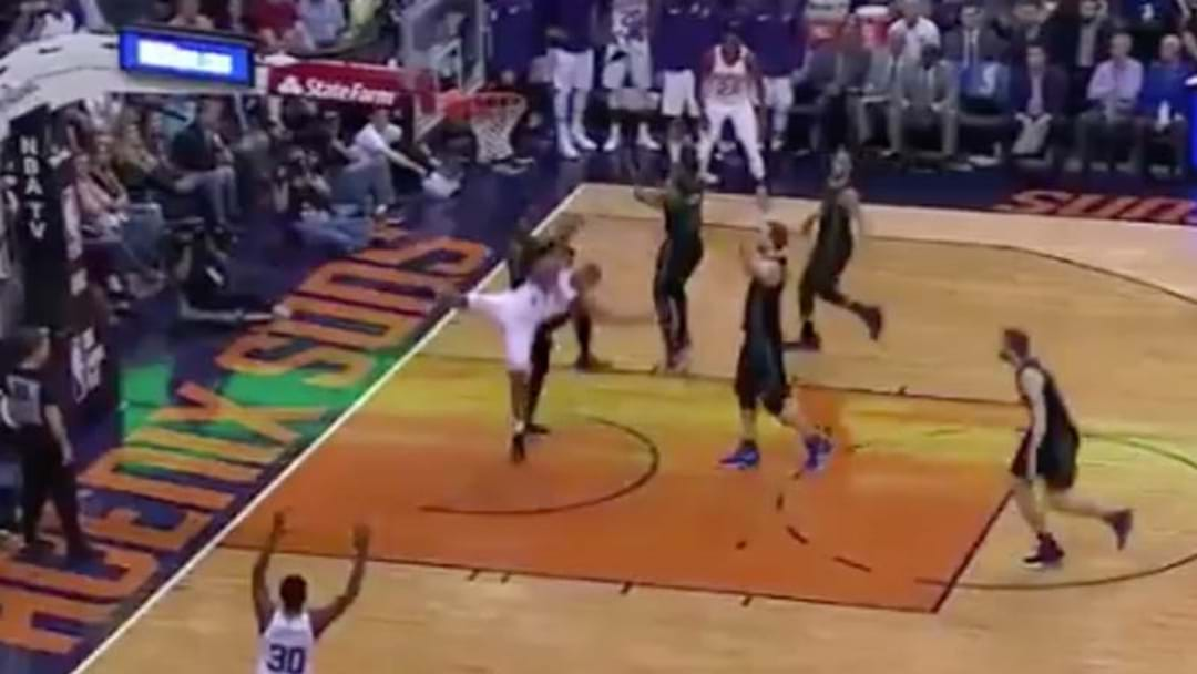 NBA Player Isaiah Canaan's Gruesome Ankle Break