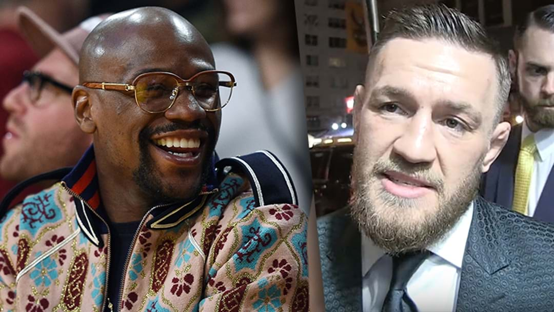 Conor McGregor Challenges Floyd Mayweather Over The UFC Hype