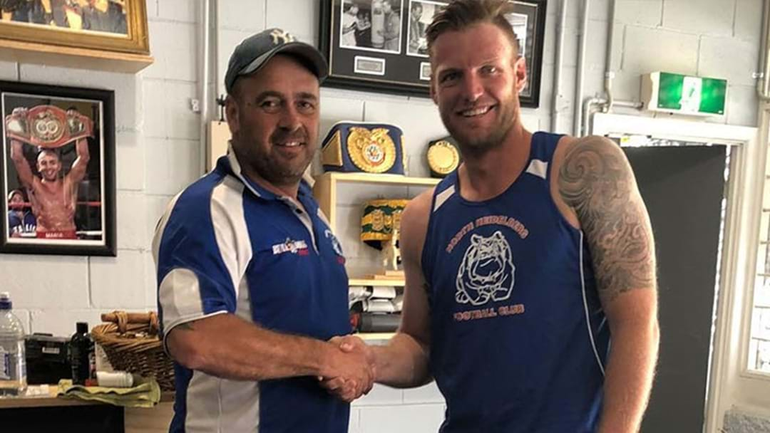 Former Tennis Star Sam Groth Will Be Playing Footy With Boomer Harvey This Year