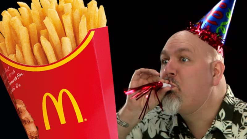 Study says McDonald's fries could hold cure to baldness
