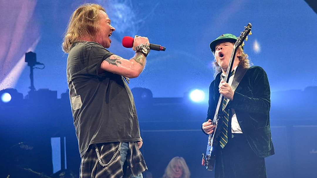AC/DC Reportedly Set To Record A New Album And Continue Touring With Axl Rose