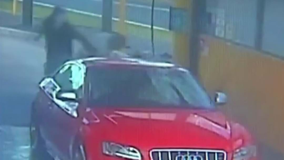 Dramatic Footage Shows Carjacking In Sydney's West