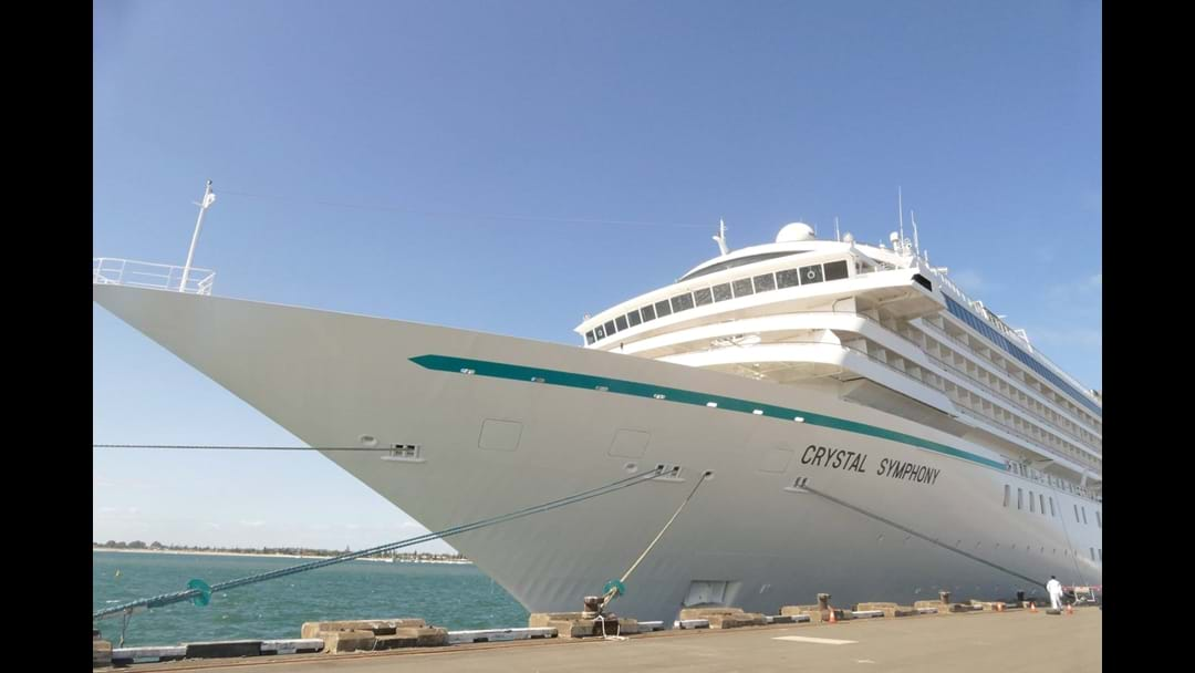 South West Welcomes Crystal Symphony