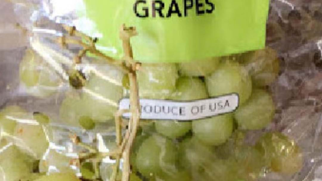 Rotting Mouse Found In Bag Of Coles Grapes