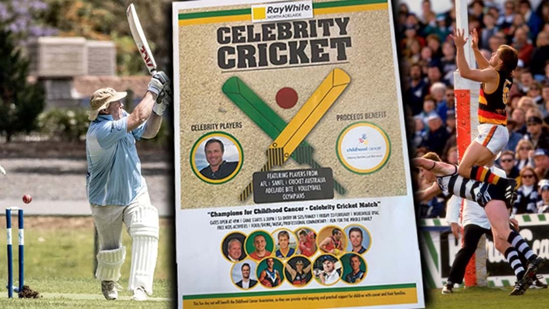 Jars Is Putting On A Charity Cricket Match And The Teams Are Full To The Brim With Legends