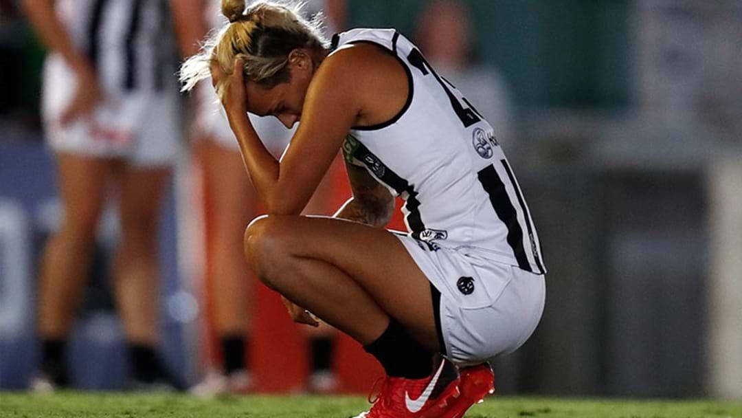 Collingwood Drop Moana Hope For Fremantle Game