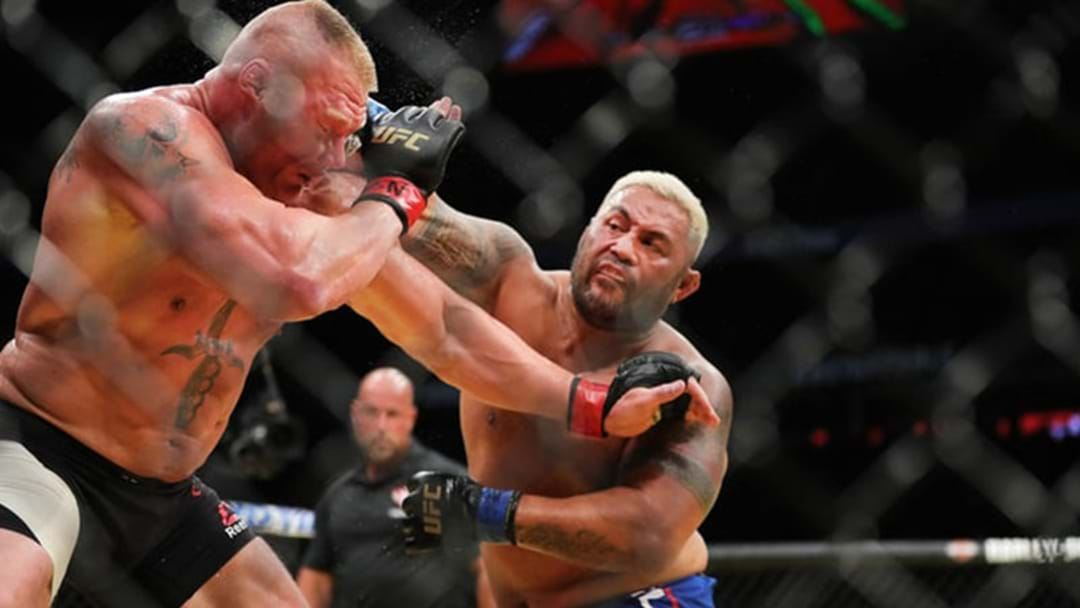Dana White's Claims Brock Lesnar Could Return To The UFC Is 'Pathetic' Says Mark Hunt