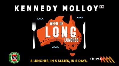 Join Mick & Jane (& VB!) For The Ultimate Long Lunch!