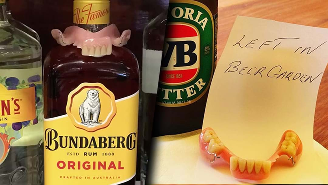 A Queensland Pub Used Facebook To Find The Owner Of False Teeth Left In Their Beer Garden