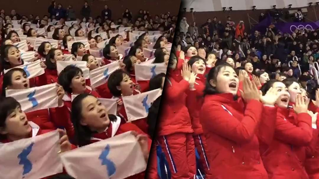 There's A North Korean Cheer Squad At The Winter Olympics And It's… Really Something