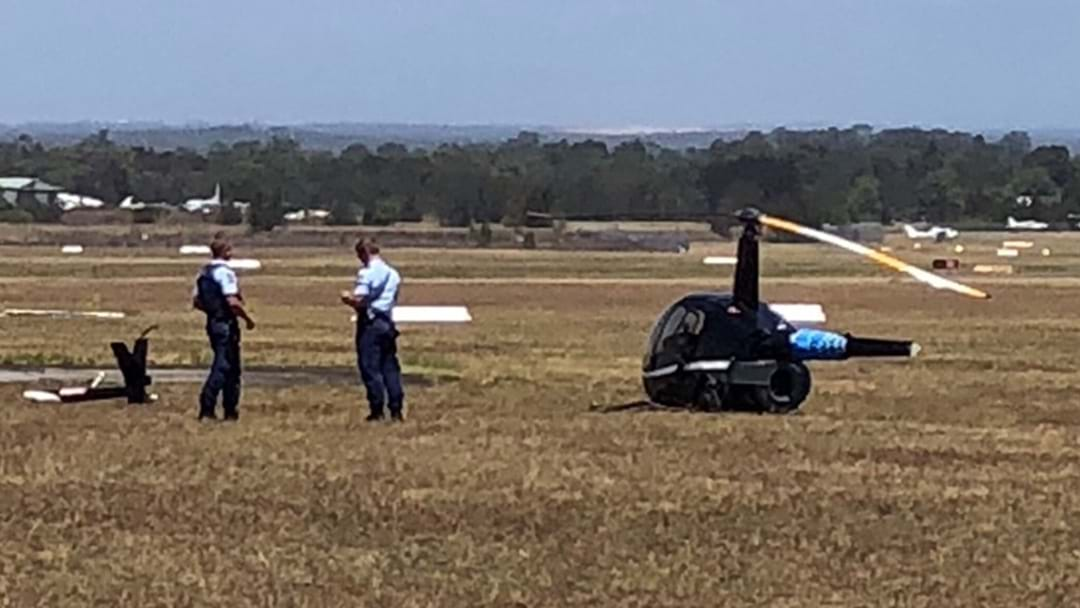 Two Injured In Helicopter Crash At Bankstown Airport