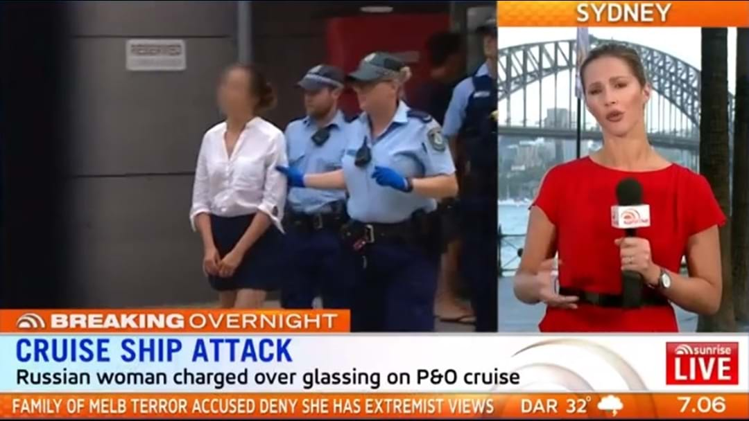 Russian Charged After Sydney P&O Glassing