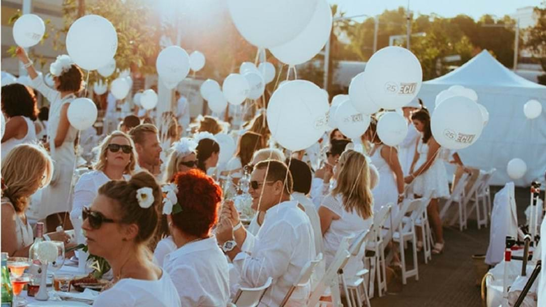 Get your tickets to Diner en Blanc with Professor Gerard Carroll AM
