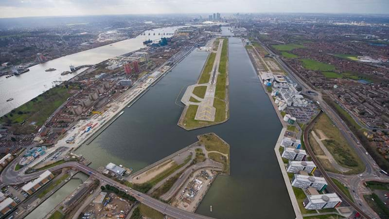 London City Airport Shutdown After Discovery Of WWII Bomb