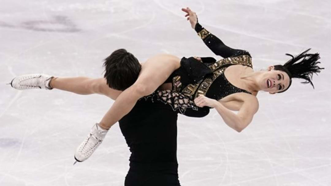 """Canadian Figure Skaters Forced To Drop """"Suggestive"""" Move From Routine"""