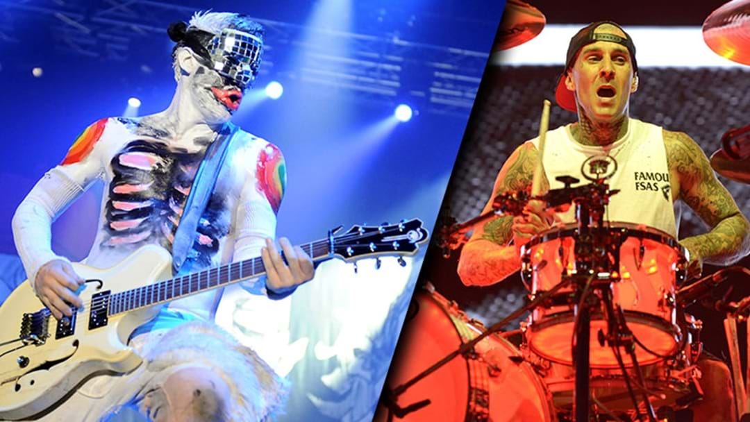 Limp Bizkit's Wes Borland Is Doing A Project With Blink 182's Travis Barker
