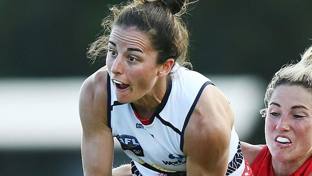 Key Crows Defender Slapped With AFLW Ban