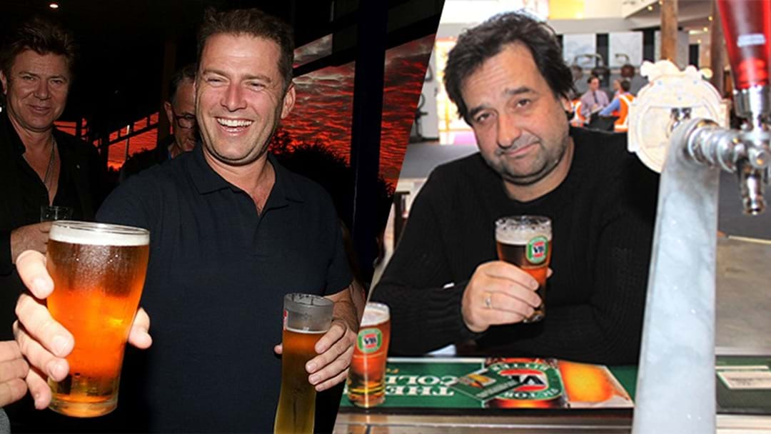 Karl Stefanovic Opens Up On His 'Commitment Ceremony' With Mick Molloy
