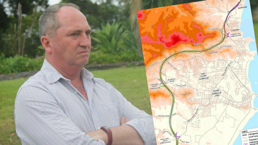 Barnaby Joyce Tells Mayor Bypass is His Priority