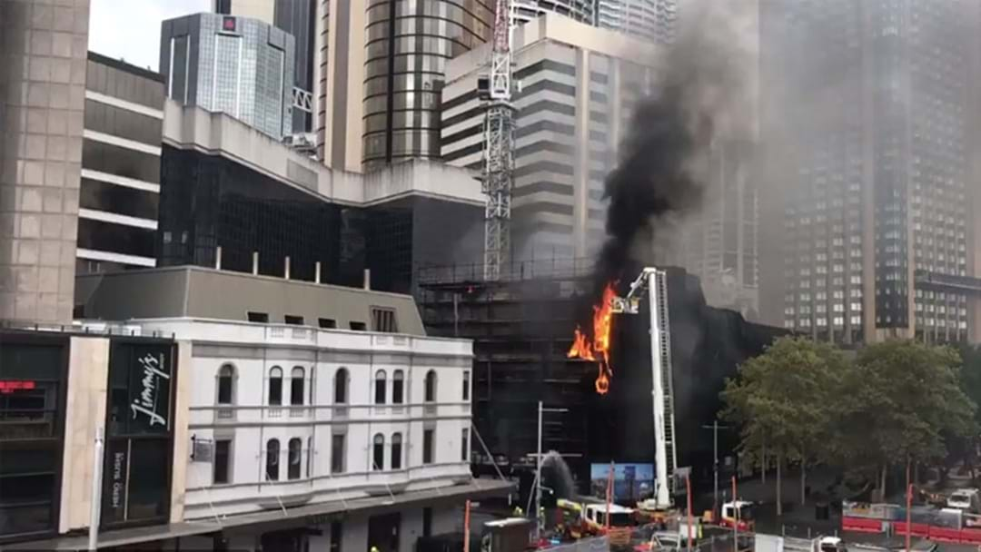 Train Delays Following Circular Quay Fire