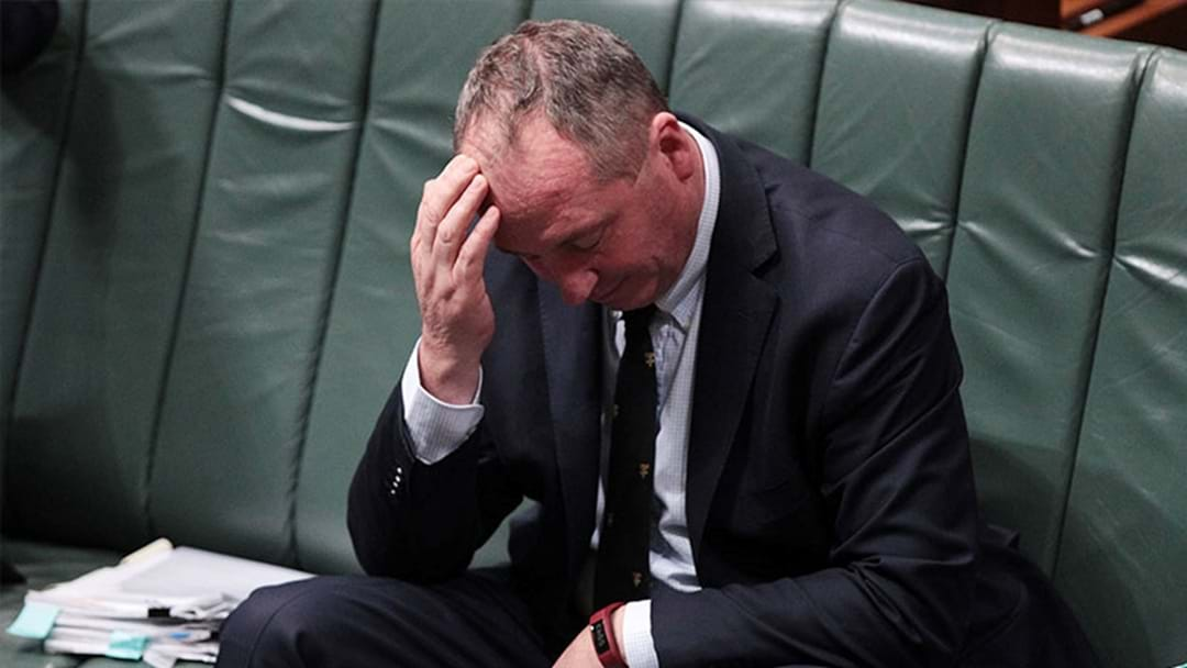 BREAKING: Barnaby Joyce Will Step Down