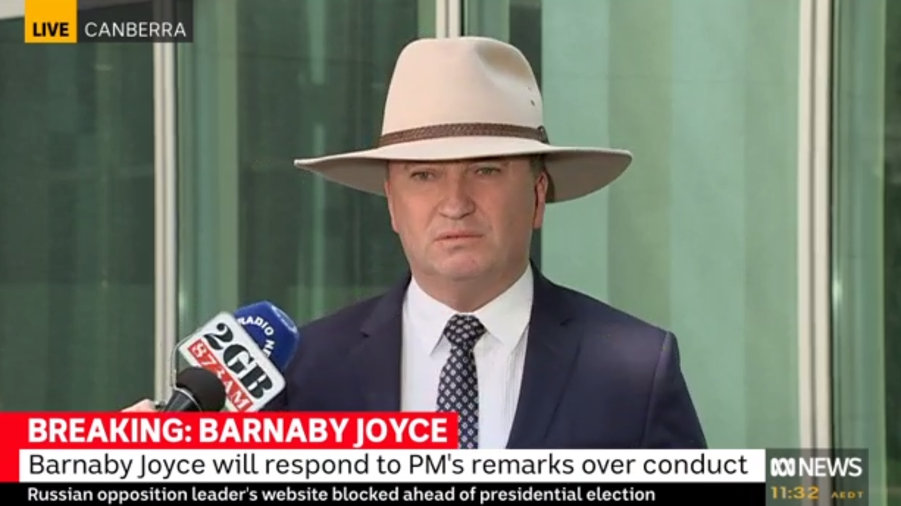 Article heading image for Barnaby Joyce Just Cracked It At The Prime Minister Called Him 'Inept'