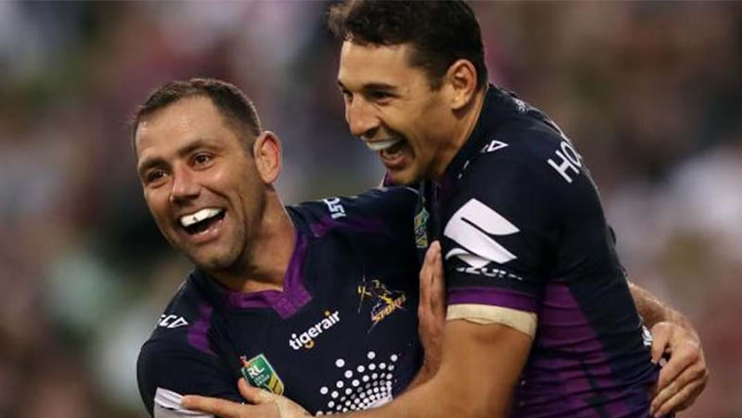 Cameron Smith And Billy Slater To Be Immortalised With Statues At AAMI Park