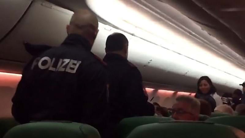 Pilot makes an emergency landing because of man's loud farting