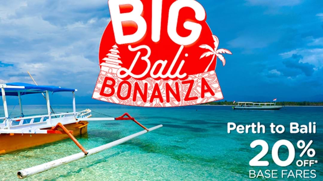 Air Asia Just Announced A Huge 20% Off Base Fares To Bali