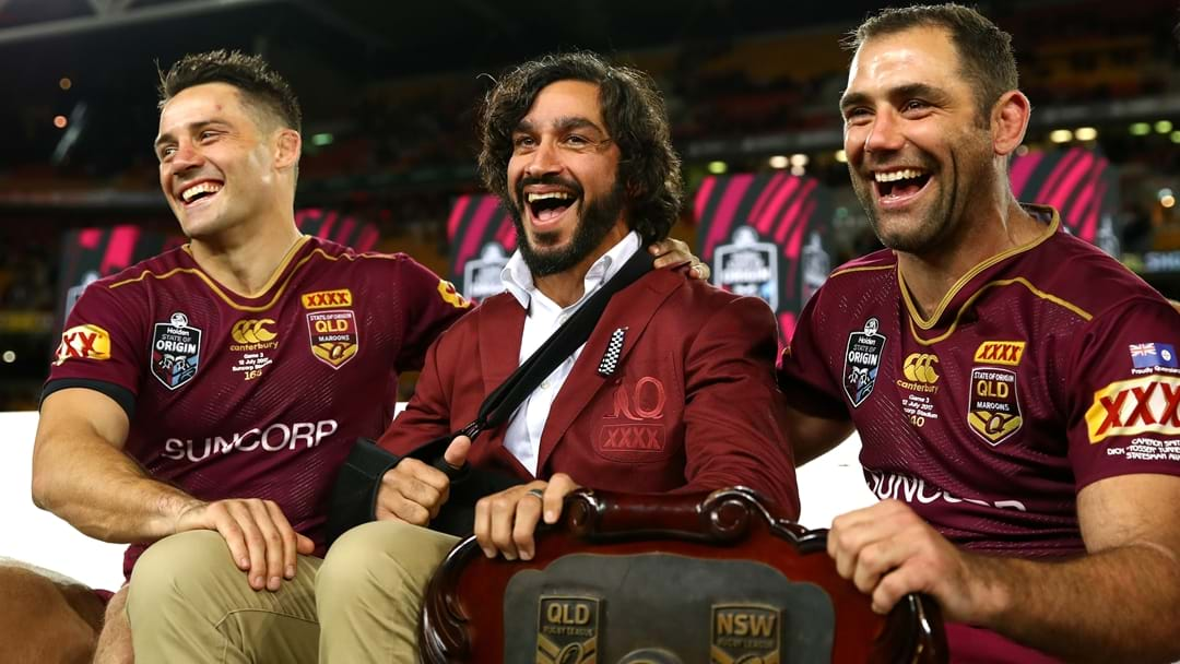 Jonathan Thurston Responds To Reports That He's Returning To Origin
